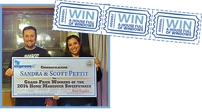 Scott & Sandra grand prize sweepstakes winners