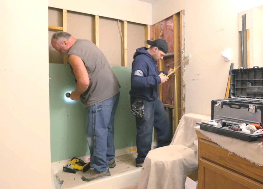 Louisville Bathroom Remodeling Process