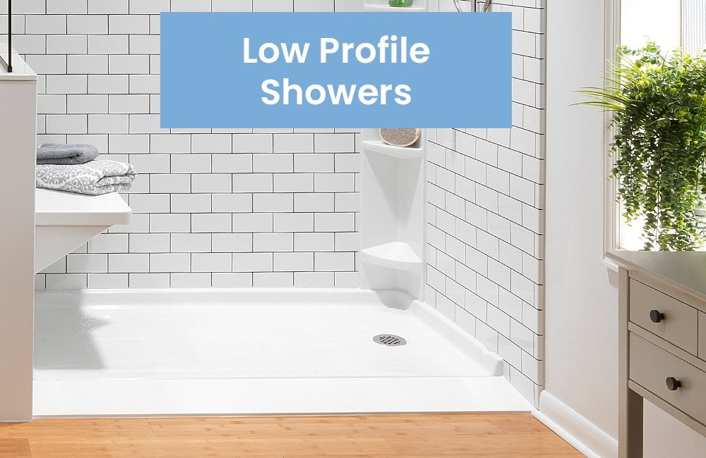 Low Profile Showers