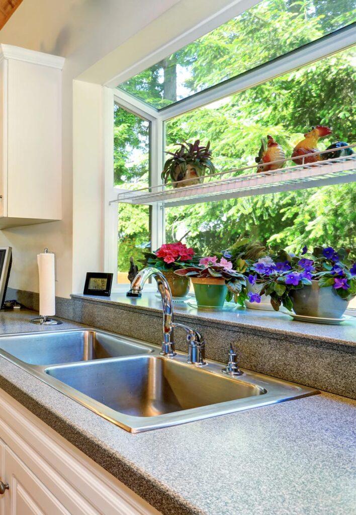 Garden windows for kitchen