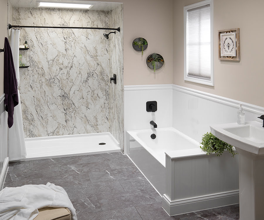 Bathtub Showers