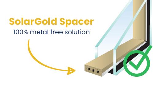 Solargold Window Spacer warm edge spacer
